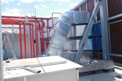 Condotte d'aria a servizio del reparto sterile i suoi servizi