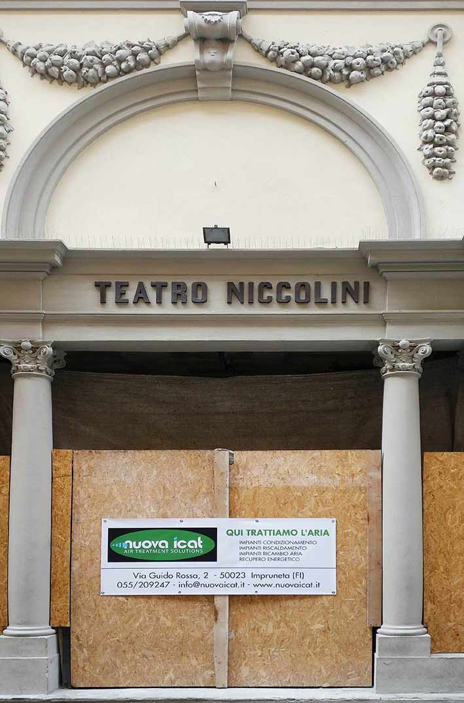Teatro Niccolini, un restauro durato anni di questo gioiellino del '600.