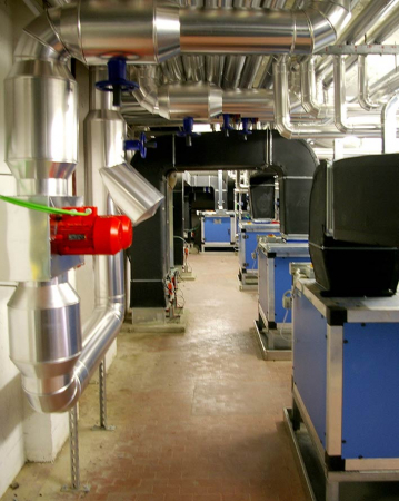 Centrale di trattamento aria a servizio reparto sterile (Bologna)