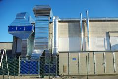 Impianto aspirazione e filtrazione verniciatura industriale