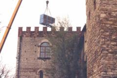 Tiro di gruppo frigo per impianto di condizionamento celebre Certosa fiorentina