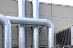 Sistemi di abbattimento polveri e impianto di condizionamento calzaturificio