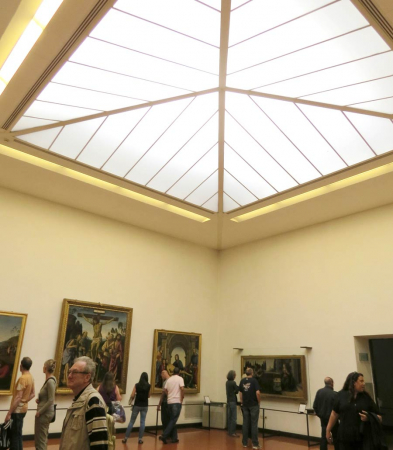 Impianto condizionamento e ricambio aria sala espositiva importante complesso museale fiorentino (Firenze)