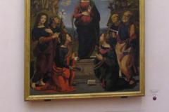 Particolare griglia di ripresa aria nella sala espositiva Opere di Leonardo Da Vinci