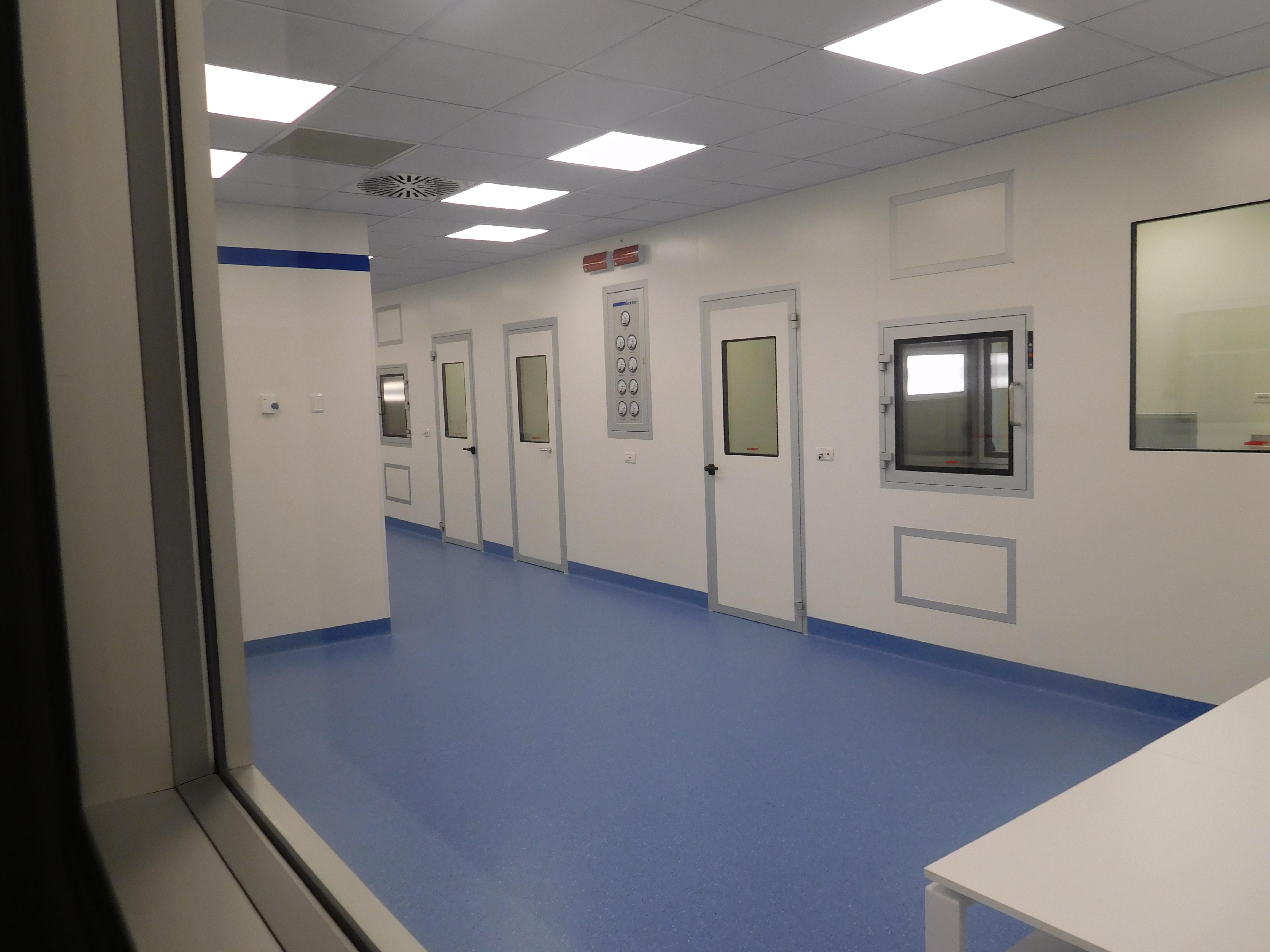 Area Protetta di Servizio al Reparto Sterile