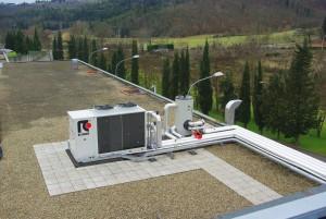 Impianto di condizionamento e riscaldamento - Martelli Proraso (Firenze) - 2010